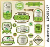 eco labels   Shutterstock .eps vector #129358037