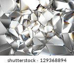 abstract clear crystal glass background texture - stock photo