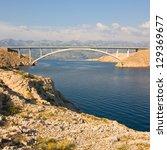 bridge  pag island  croatia | Shutterstock . vector #129369677