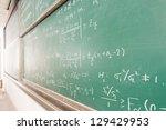 blackboard with complicated ...   Shutterstock . vector #129429953