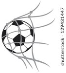 vector football  soccer  ball... | Shutterstock .eps vector #129431447