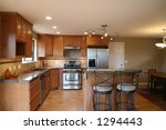 new kitchen remodel | Shutterstock . vector #1294443