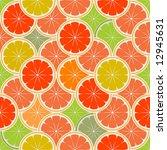 orange paradise 2   seamless | Shutterstock .eps vector #12945631