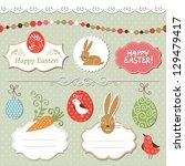 Easter Set  Vector Easter...