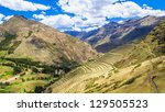 sacred valley of the incas ... | Shutterstock . vector #129505523