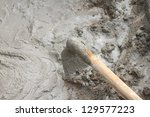 cement mortar for the background | Shutterstock . vector #129577223