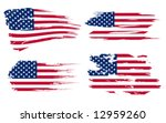 american flag background fully... | Shutterstock .eps vector #12959260