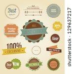 vector illustration. collection ...   Shutterstock .eps vector #129637217