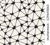 vector seamless pattern. modern ... | Shutterstock .eps vector #129645863