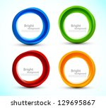 Set Of Colorful Circles