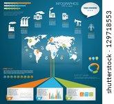 detail modern infographic... | Shutterstock .eps vector #129718553