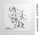vector pattern | Shutterstock .eps vector #129737897