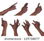 multi touch gestures for... | Shutterstock . vector #129738077