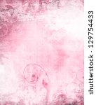 Pink Background Texture With...