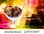 chocolatiers showcase with... | Shutterstock . vector #129757697