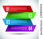 banner design template | Shutterstock .eps vector #129804533
