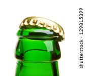 opening beer bottle - stock photo