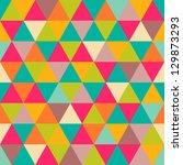 Abstract Geometric Triangle...