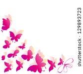 butterflies design | Shutterstock .eps vector #129893723