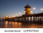 Huntington Beach Pier Dusk