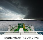 View Of Approaching Storm From...