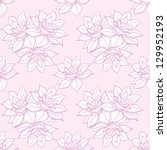 seamless floral background ... | Shutterstock .eps vector #129952193