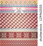 Set Of Patterns And Borders Fo...