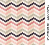 fashion zigzag pattern in retro ... | Shutterstock .eps vector #130090967
