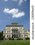 Small photo of Villa Hügel - famous landmark and former residence of industrial tycoon Alfred Krupp and family - Essen (Germany)