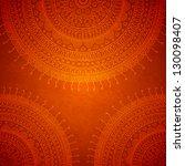 mandala ornament background.... | Shutterstock .eps vector #130098407