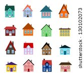 House Set   Colourful Home Ico...