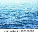 Sea Water Surface In Sunlight
