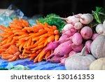 Fresh Vegetables On Salamanca...