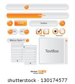 vector user interface elements