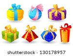 illustration of collection of... | Shutterstock .eps vector #130178957