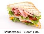 toast sandwich | Shutterstock . vector #130241183