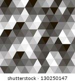 geometric vector seamless...   Shutterstock .eps vector #130250147