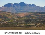 south africa  landscape in... | Shutterstock . vector #130262627