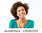 portrait of young african woman ... | Shutterstock . vector #130282553