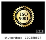 Iso 9001 golden stamp