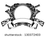 vector illustration huntings...   Shutterstock .eps vector #130372403