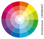 Color Wheel. Illustration Guide.