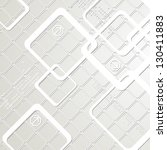 abstract light technology... | Shutterstock .eps vector #130411883