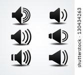 speaker icon | Shutterstock .eps vector #130434263