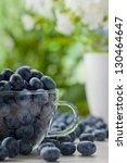 fruits   fresh blueberries  ... | Shutterstock . vector #130464647