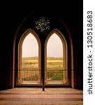 Moorish Window Backlit In The...