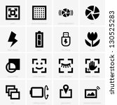 photo icons | Shutterstock .eps vector #130525283