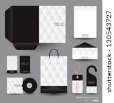 Stationery Design Set In Vecto...