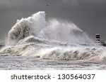 Stormy Morning At The Harbor O...