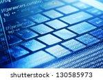 program code and computer... | Shutterstock . vector #130585973